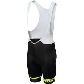 Sportful Tour Bibshort Kids black/yellow fluo
